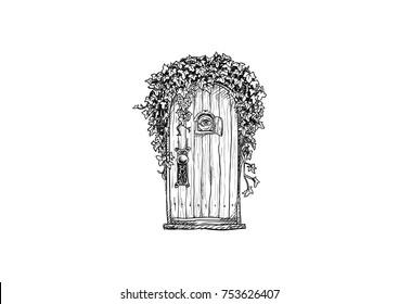 Secret Garden Door Fantasy