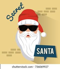 Secret santa cartoon