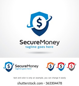 Secure Money Logo Template Design Vector