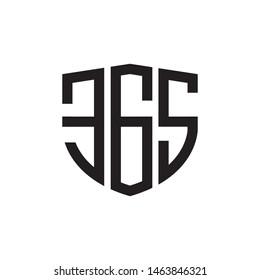 Security 365 logo design template