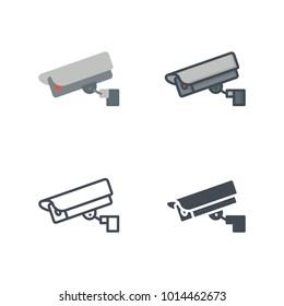Security camera service icon