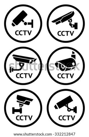 Security Camera Symbols