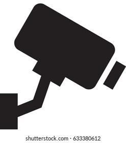 Security Camera Vector Icon