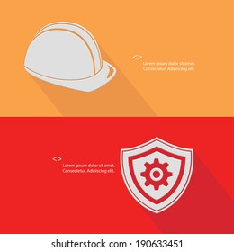 Security concept,Engineering,Blank for text,vector