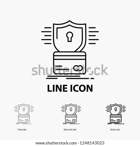 Security Credit Card Card Hacking Hack Stock Vector Royalty Free