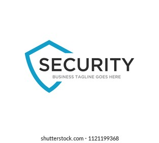 Security Defend Logo Design Template Vector