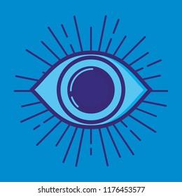 security eye fintech icon