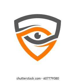 Security Eye Logo Template