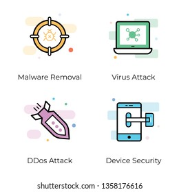 Security is important for everything. Here is a pack of antivirus and security vector Icons that are perfect for your design projects.Grab this pack and use it in related projects.