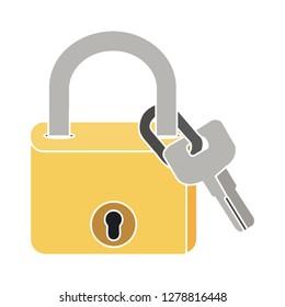 security lock icon-safe sign-password illustration-encryption illustration-unlock isolated-lockcode vector-padlock sign