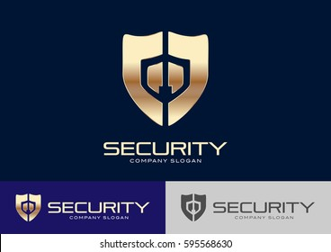Security Logo Template Design Vector