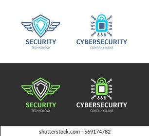 Security technology & information - logo, icon