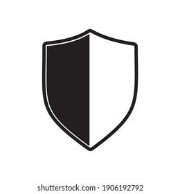 Security vector icon, shield, lock vector icon illustration