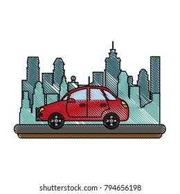 Sedan car vehicle
