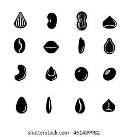 Seed icon set