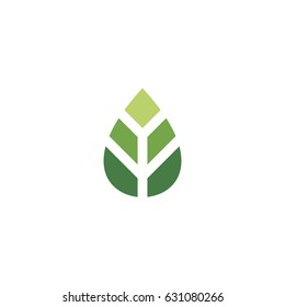 seed leaf icon logo