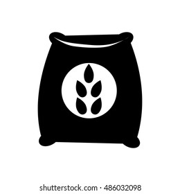 Seed sack icon illustration isolated vector sign symbol