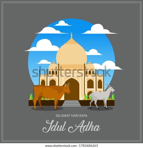 selamat hari raya idul adha translates stock vector royalty free 1783686263 https www shutterstock com image vector selamat hari raya idul adha translates 1783686263