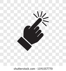 finger transparent background stock illustrations images vectors shutterstock https www shutterstock com image vector select vector icon isolated on transparent 1191557770
