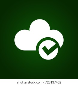 selected cloud icon