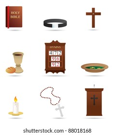 Selection of Christian Religious icons