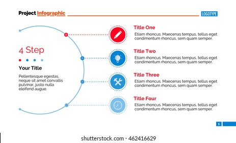 Semicircle Chart Slide Template