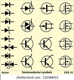 Semiconductor Symbols