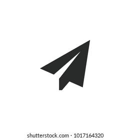 Send Icon. Paper Plane Vector Icon