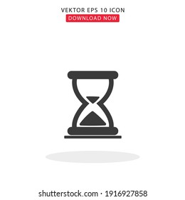 Send Time simple vektor with white background