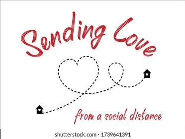 sending love heart route design