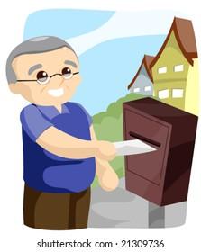 Sending Mail - Vector