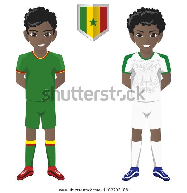 outlet store fc179 ef6c1 Senegal National Football Team Kit International Stock ...