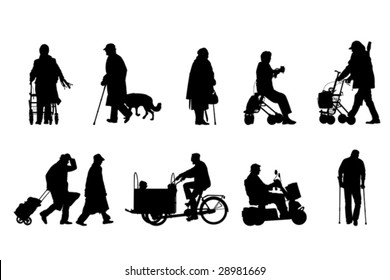 senior  silhouettes collection