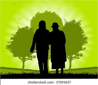 Seniors Walk