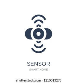 Sensor icon. Trendy flat vector Sensor icon on white background from smart home collection, vector illustration can be use for web and mobile, eps10