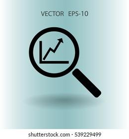 SEO concept icon. vector illustration