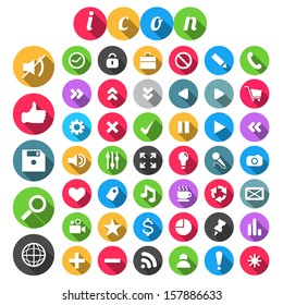 SEO Icon set, vector illustration.