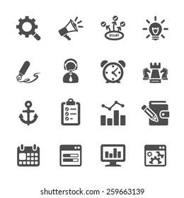 seo and internet marketing icon set 2, vector eps10.