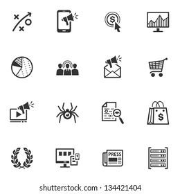 SEO & Internet Marketing Icons - Set 3