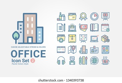 SEO Office icon set