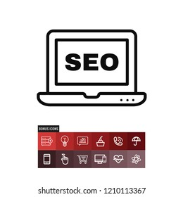 Seo vector icon