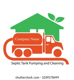 Septic tank cleaning Logo