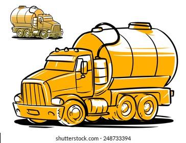 Download Vacuum Truck - Vac Truck Clipart - Full Size PNG Image - PNGkit