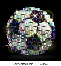 Sequins soccer ball