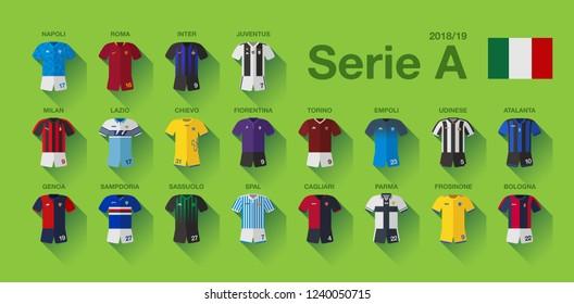Serie A Soccer Kit 2018-19