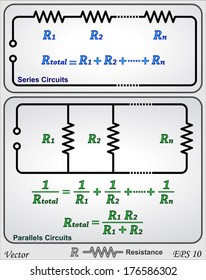Series and parallel circuits - resistor