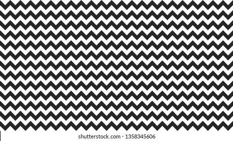 serrated striped black white color for background, art line shape zig zag black color, wallpaper stroke line parallel wave triangle black, image tracery chevron line triangle striped full frame