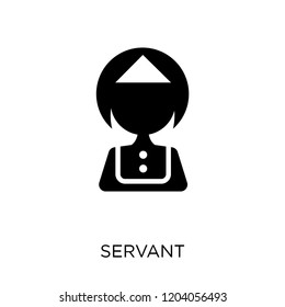 Servant icon. Servant symbol design from Hotel collection. Simple element vector illustration on white background.