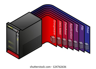1000+ Virtual Machine Diagram Stock Images, Photos & Vectors
