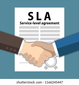 service level agreement, handshake